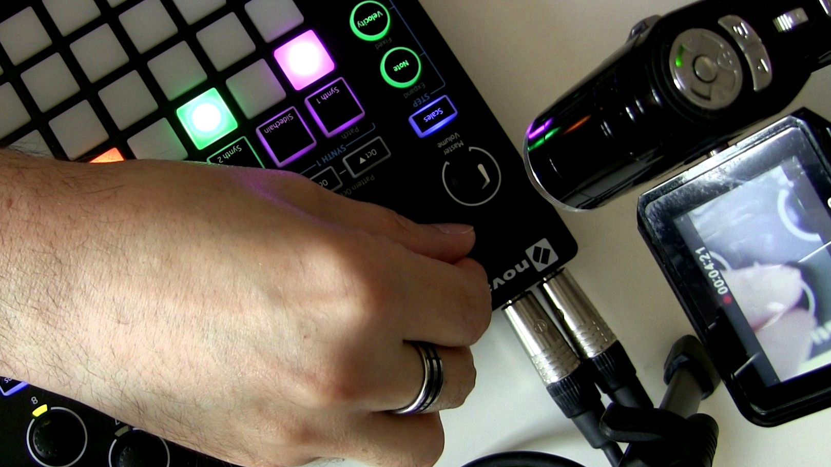 With the Novation Circuit